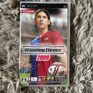 プレイステーションポータブル(PlayStation Portable)のワールドサッカー ウイニングイレブン 2009 PSP(その他)