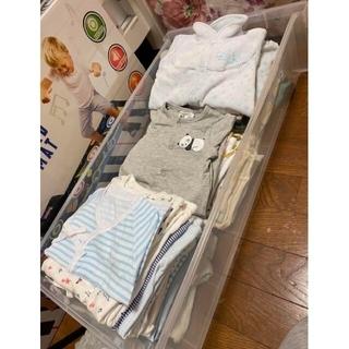 H&M - 美品、未使用有70着以上新生児ベビー服まとめ売り出産準備セット男の子女の子