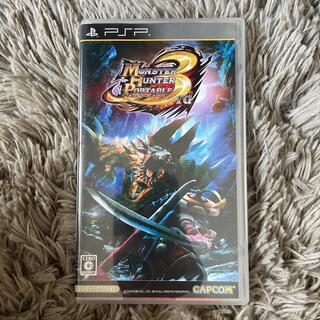 プレイステーションポータブル(PlayStation Portable)のモンスターハンターポータブル 3rd PSP(その他)