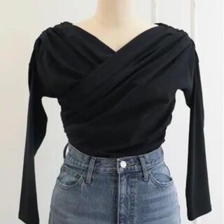 FRAY I.D - Asymmetric Cotton-blend Jersey Top