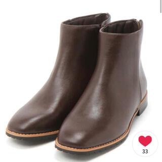 スタディオクリップ(STUDIO CLIP)のステッチ ブーツ(ブーツ)