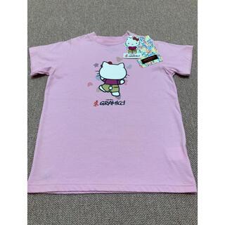 GRAMICCI - 新品 キティxグラミチ Tシャツピンク キッズMサイズ