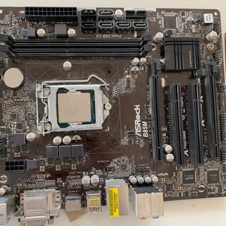 Intel i5-4590 ASROCK B85M セット 【引越しセール】(PCパーツ)