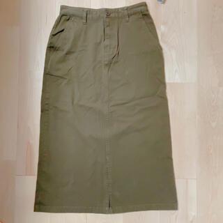 ムジルシリョウヒン(MUJI (無印良品))の無印 タイトスカート ロングスカート(ロングスカート)