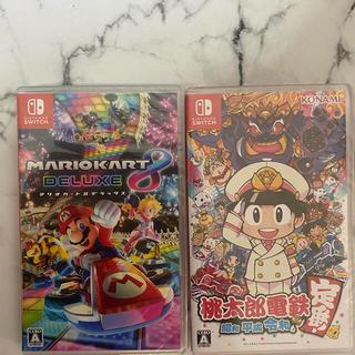 Nintendo Switch - 新品未使用 switchマリオカート8 桃太郎電鉄