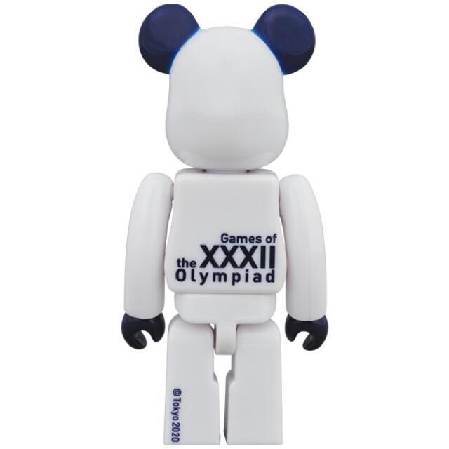 MEDICOM TOY(メディコムトイ)のベアブリック 100% & 400%(東京2020オリンピックエンブレム) エンタメ/ホビーのフィギュア(その他)の商品写真