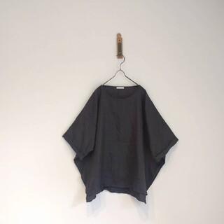 スタディオクリップ(STUDIO CLIP)の★ リネンオーバーサイズプルオーバー(カットソー(半袖/袖なし))