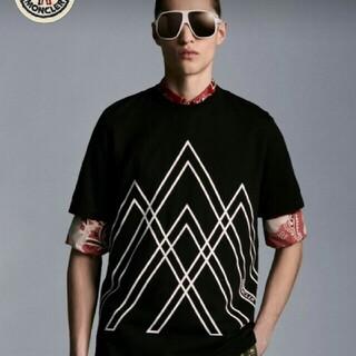 モンクレール(MONCLER)の2021SS 新作 モンクレール グラフィックプリントTシャツ(Tシャツ/カットソー(半袖/袖なし))