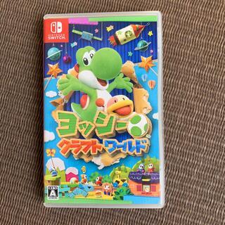 ニンテンドースイッチ(Nintendo Switch)のヨッシークラフトワールド  Switch 任天堂 ヨッシー マリオ(家庭用ゲームソフト)