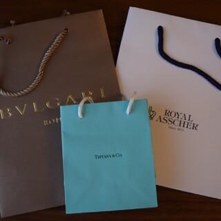 ティファニー(Tiffany & Co.)の紙袋 ブランド TIFFANY BVLGARI ROYAL ASSCHER (ショップ袋)
