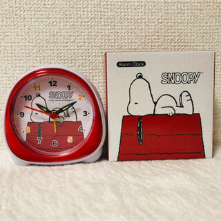 SNOOPY - ⭐︎値下げ⭐︎スヌーピーおにぎり型クロック赤