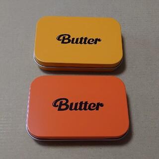 防弾少年団(BTS) - bts butter weverse 缶ケース 2色セット