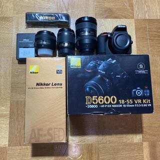 Nikon - 【総額約16万円】Nikon D5600 18-55mm VRキット+α