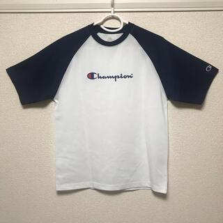 Champion - チャンピオン Tシャツ 半袖 Champion ロゴ カットソー Mサイズ