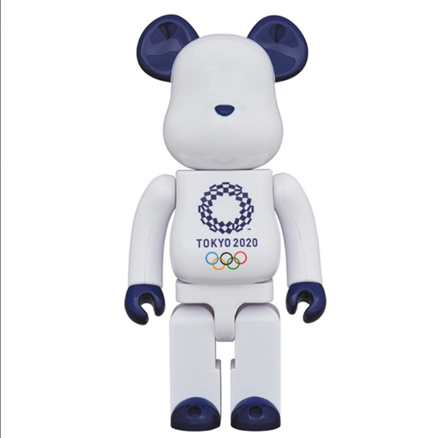MEDICOM TOY(メディコムトイ)のbearbrick 100% 400% セット 東京オリンピック エンタメ/ホビーのフィギュア(アメコミ)の商品写真