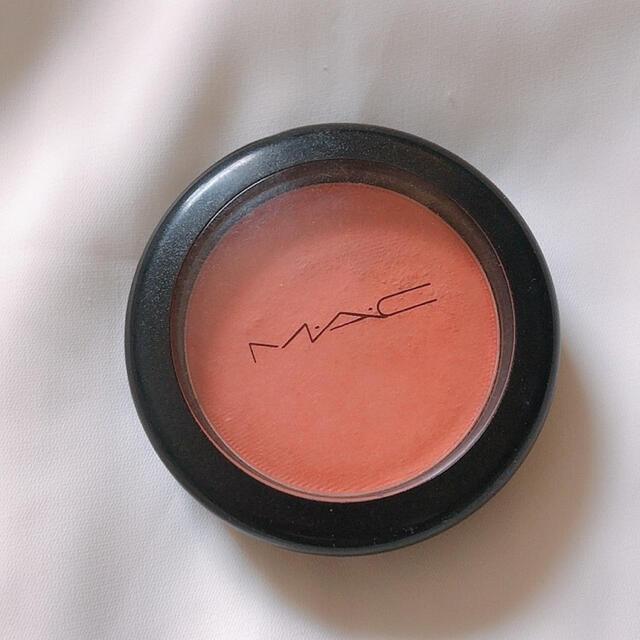 MAC(マック)のMAC パウダーブラッシュ モダンマンダリン コスメ/美容のベースメイク/化粧品(チーク)の商品写真
