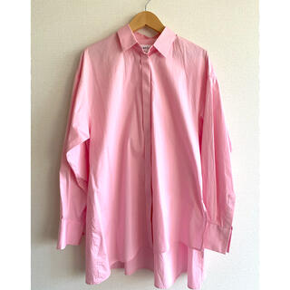 ENFOLD - ★美品★ENFOLD Look book掲載 ピンクシャツ