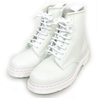 ドクターマーチン(Dr.Martens)のドクターマーチン 1460 8ホールブーツ シューズ レザー白 6 約25cm(ブーツ)