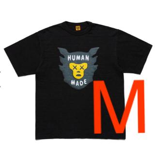 Supreme - ヒューマンメイド×kaws Tシャツ black  mサイズ ブラック