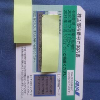 ANA株主優待券(搭乗割引券)(その他)