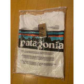 patagonia - 新品 patagonia パタゴニア 半袖T P-6LOGO ホワイト XL