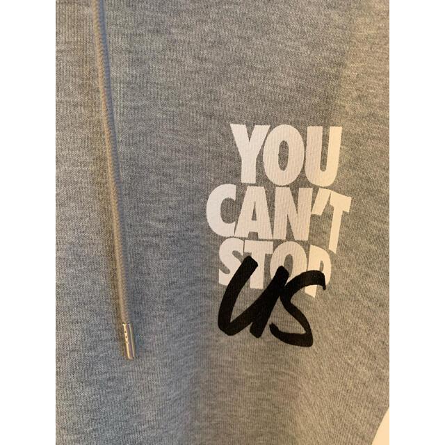 """NIKE(ナイキ)の希少ナイキ×サカイコラボ フーディ """"You Can't Stop Us"""" メンズのトップス(パーカー)の商品写真"""