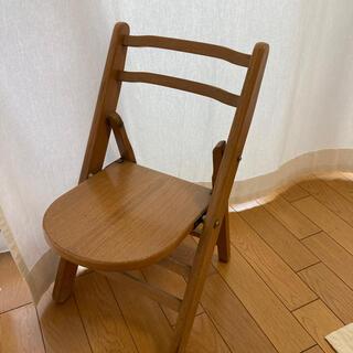 古道具 子供用 椅子 (スツール)