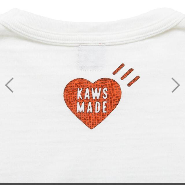 A BATHING APE(アベイシングエイプ)のHuman Made Kaws tシャツ XLサイズ メンズのトップス(Tシャツ/カットソー(半袖/袖なし))の商品写真