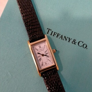 ティファニー(Tiffany & Co.)のティファニー ポートフォリオ 腕時計 レディース リザードベルト Tiffany(腕時計)