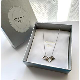 Christian Dior - クリスチャン ディオール ロゴネックレス