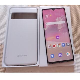 LG Electronics - SIMフリー LG VELVET Dual screen 2画面