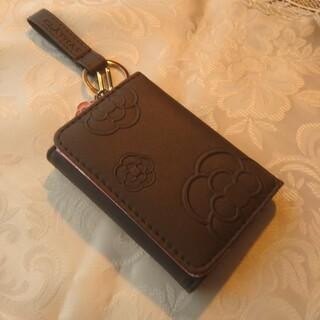 クレイサス(CLATHAS)のクレイサス  三つ折り財布 ロゴキーチャーム付き(財布)