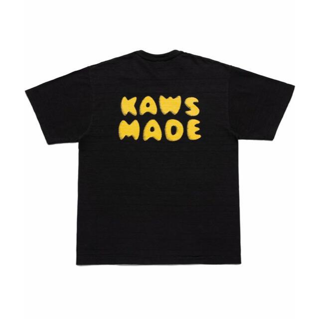 GDC(ジーディーシー)のMサイズ HUMAN MADE KAWS T-Shirt Black 白熊② メンズのトップス(Tシャツ/カットソー(半袖/袖なし))の商品写真