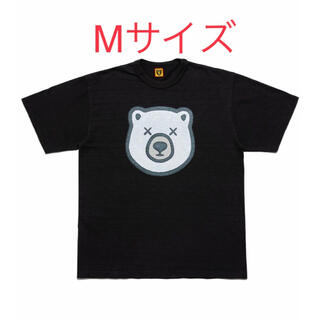 GDC - Mサイズ HUMAN MADE KAWS T-Shirt Black 白熊②