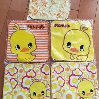 チキンラーメン ハンドタオル5枚(タオル/バス用品)