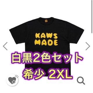Supreme - HUMAN MADE×KAWS ヒューマンメイド カウズ Tシャツ 2XL