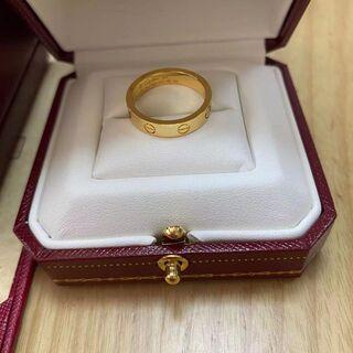 カルティエ(Cartier)のCartier カルティエ イエローゴールド 指輪 54サイズ(リング(指輪))