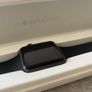 アップルウォッチ(Apple Watch)のApple Watch sport 42mm (LE様専用)(その他)