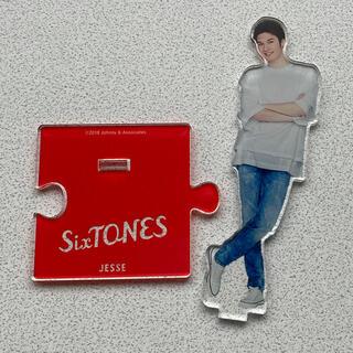 ジャニーズ(Johnny's)のSixTONES ジェシー サマパラ アクスタ アクリルスタンド(アイドルグッズ)