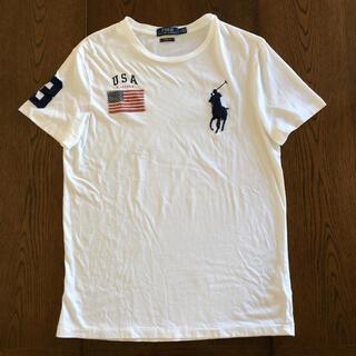 POLO RALPH LAUREN - ラルフローレン Tシャツ ホースロゴ 刺繍 ビックポニー  M メンズ