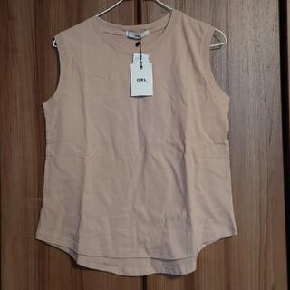 グレイル(GRL)のMサイズ ノースリーブ Tシャツ 新品未使用タグ付きです。(Tシャツ(半袖/袖なし))