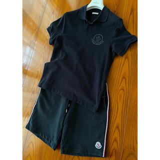 モンクレール(MONCLER)のモンクレール ポロシャツ&ショートパンツ セット サイズM(ポロシャツ)