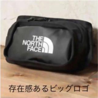 THE NORTH FACE - 【未開封新品】ノースフェイス ボディーバッグ 3L ビッグロゴ 黒色 男女兼用