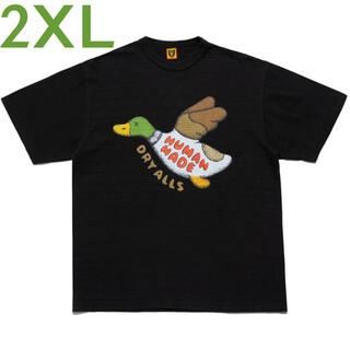 A BATHING APE - ヒューマンメイド HUMAN MADE カウズ KAWS Tシャツ 黒 2XL