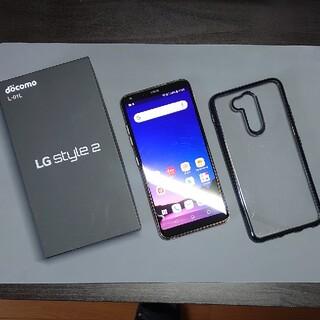 エルジーエレクトロニクス(LG Electronics)の超美品 LG style 2 docomo L-01L GOLD SIMフリー(スマートフォン本体)