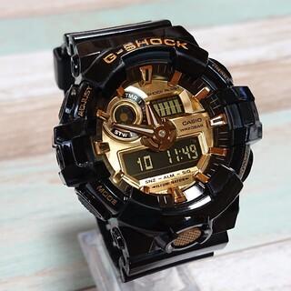 G-SHOCK - 良品【CASIO/G-SHOCK】デジアナ メンズ腕時計 GA-710GB-1A