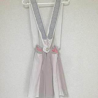 ボシュプルメット(bortsprungt)のボシュプルメット ねこちゃんスカート(ひざ丈スカート)