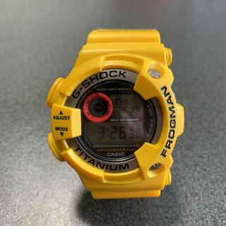 ジーショック(G-SHOCK)の【レア】G-SHOCK DW-9900 イエロー フロッグマン 赤目(腕時計(デジタル))