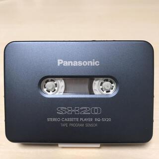 パナソニック(Panasonic)の【美品DE可動品】Panasonic カセットプレーヤー RQ-SX20(ポータブルプレーヤー)