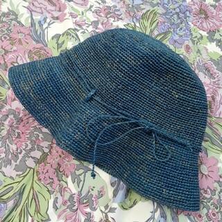 ムジルシリョウヒン(MUJI (無印良品))の無印良品 ラフィア帽子(麦わら帽子/ストローハット)